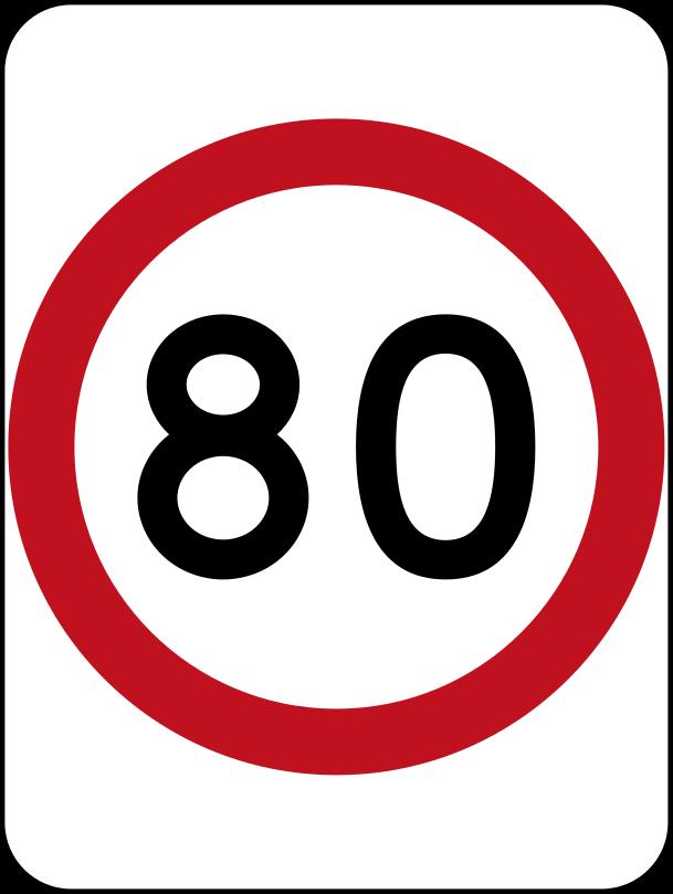 Australia_road_sign_R4-1_(80)